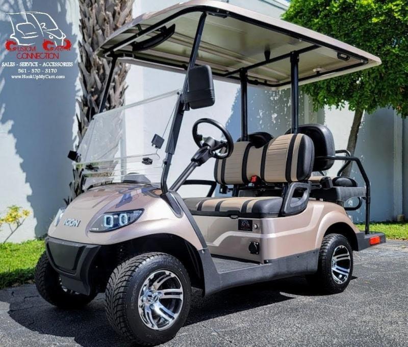2021 ICON I40 Golf Cart Electric Vehicle