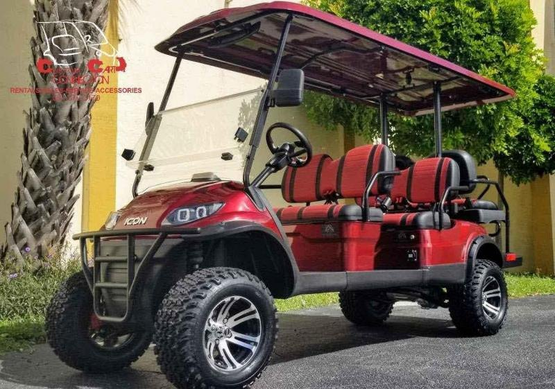 2021 ICON i60L Lifted 6 Passenger Golf Cart