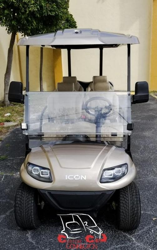 2021 ICON i60 6 Passenger Golf Cart w/Custom High Back Seats