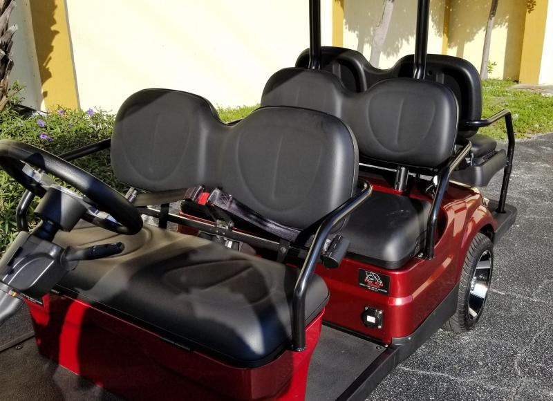 2020 ICON i60 6 Passenger Golf Cart