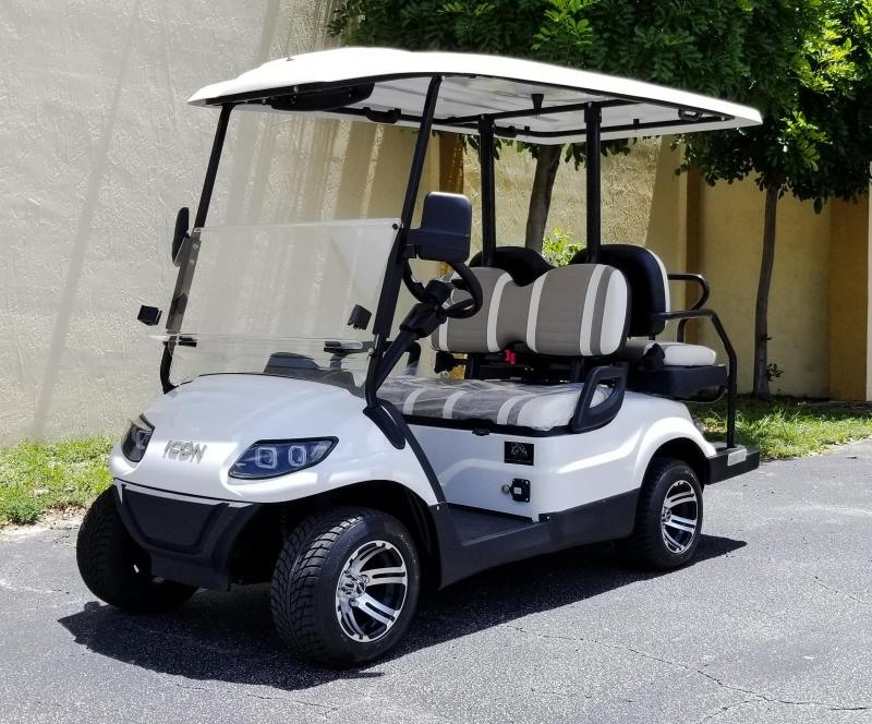 2020 ICON i40 4 Passenger Golf Cart Electric Vehicle