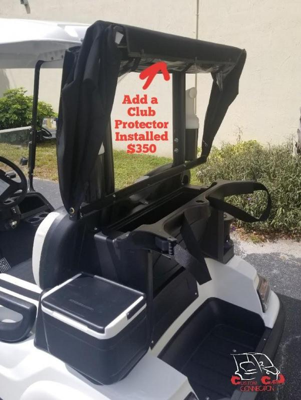 2020 ICON i40 Indigo Blue Golf Cart with Custom Seats