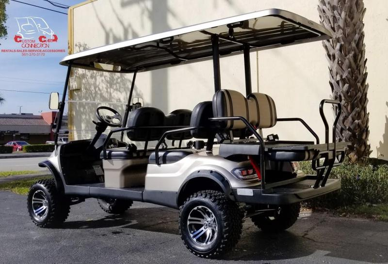 2020 ICON i60L 6 Passenger Lifted Golf Cart