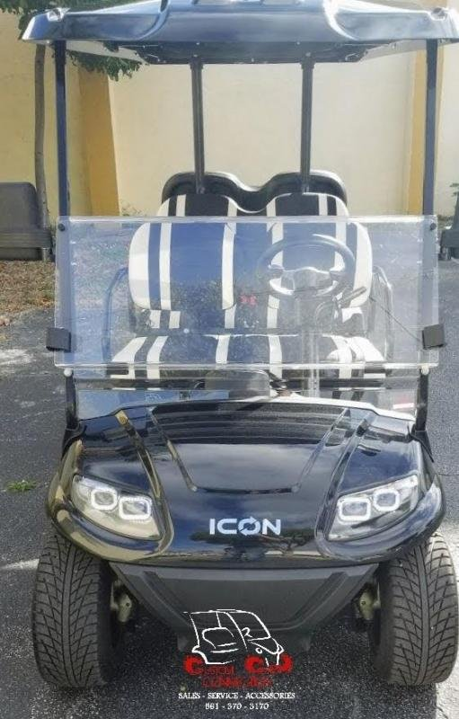 2021 ICON i60 Black 6 Passenger Golf Cart