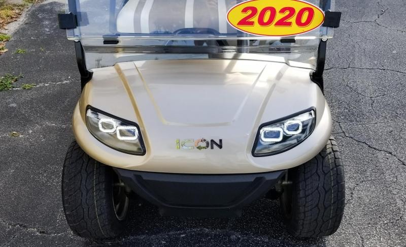 2021 ICON i40 Golf Cart with Upgraded Rims & Tires