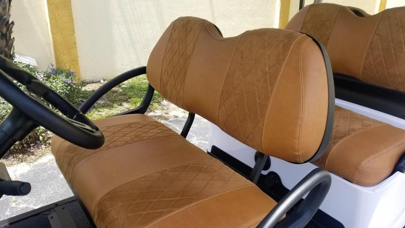 2018 Club Car Gas Precedent Golf Cart w/Alpha Body Kit