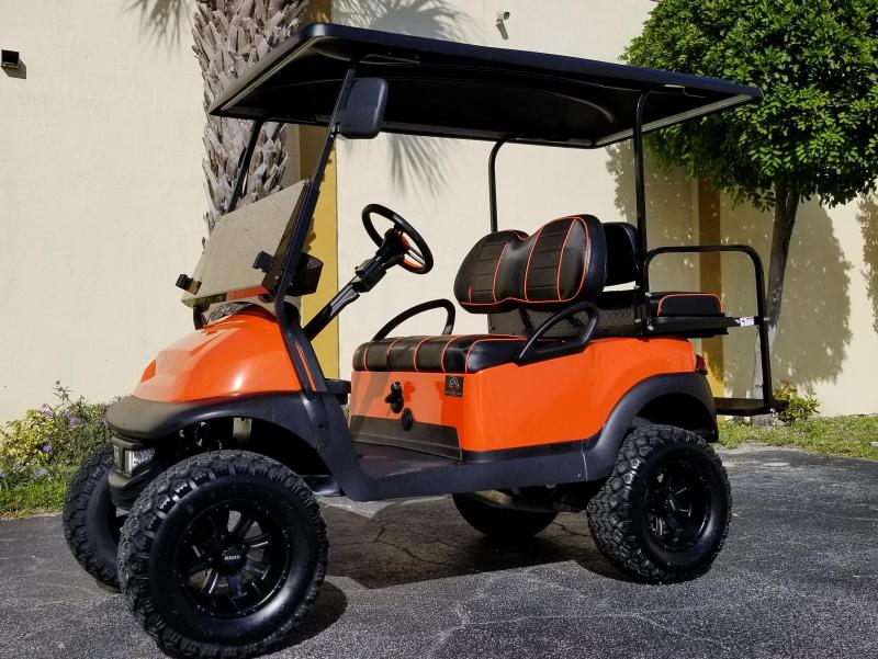 2016 Club Car Precedent Gas EFI Engine Golf Cart