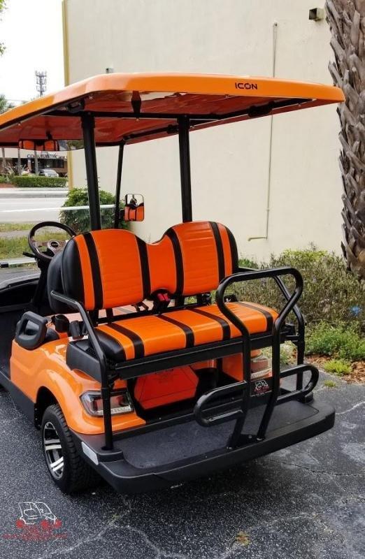 2021 ICON i40 4 Passenger Golf Cart Electric Vehicle
