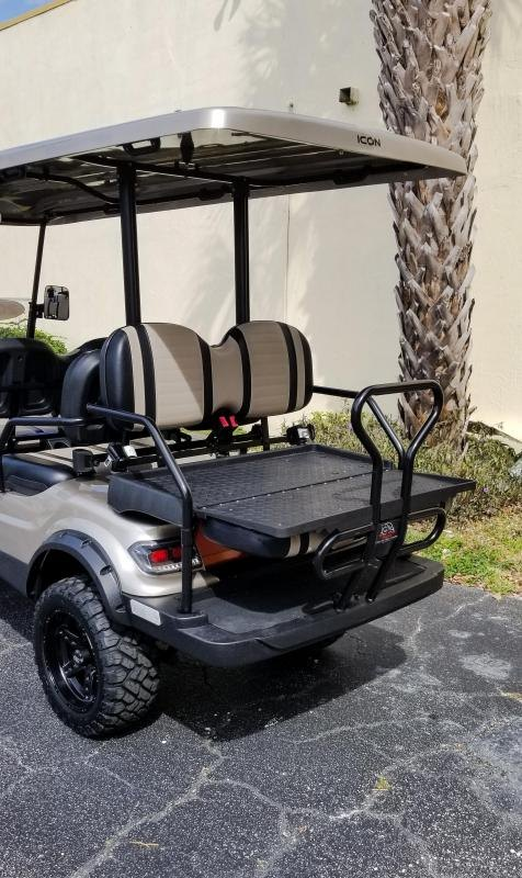 2020 ICON i60L Golf Cart with Upgraded Rims & Tires