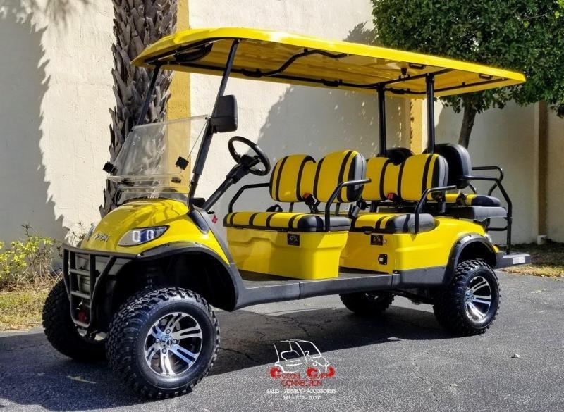 2021 ICON i60L 6 Passenger Golf Cart Electric Vehicle