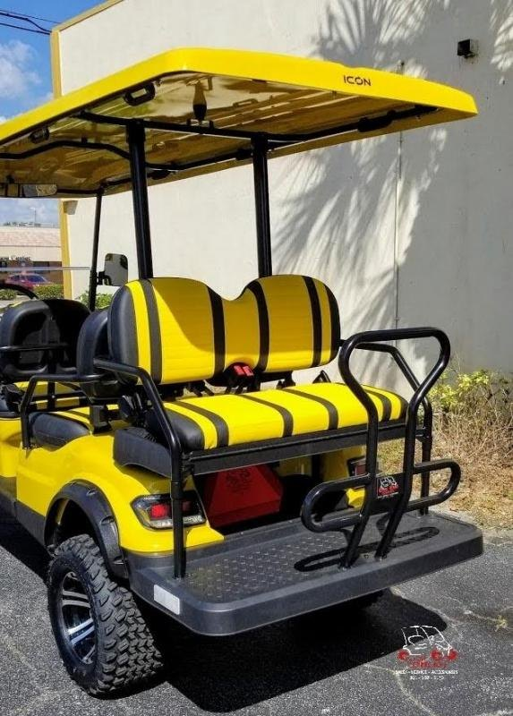 2021 ICON i60L 6 Passenger Golf Cart Electric Vehicle