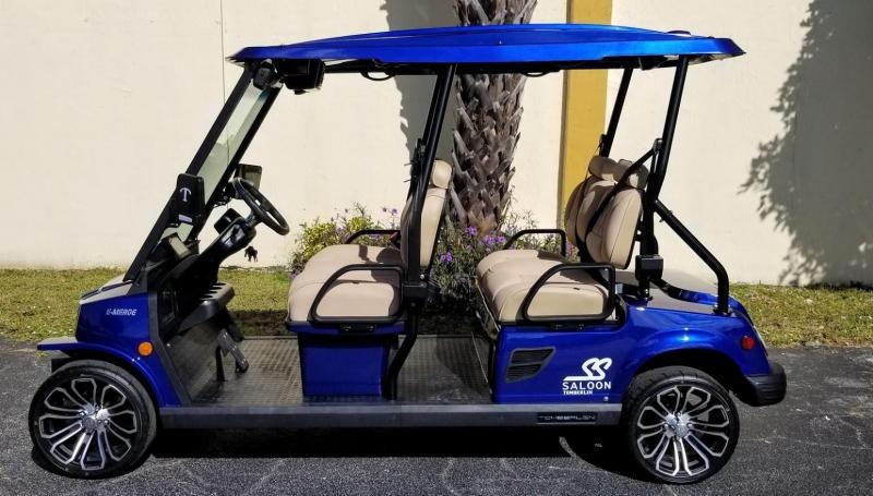 2021 Tomberlin E4 SS Saloon Golf Cart