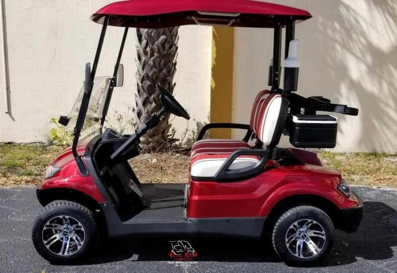 2021 ICON i20 Golf Cart w/Golf Bag Attachments