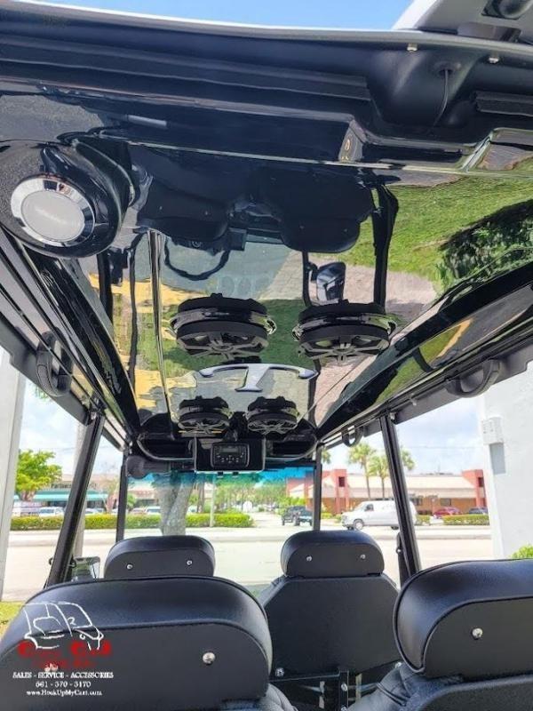 2022 Tomberlin Ghosthawk 6 Passenger Shark Grey Golf Cart