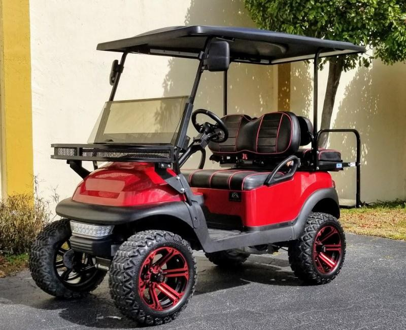 2016 Club Car Precedent Lifted Gas EFI Golf Cart