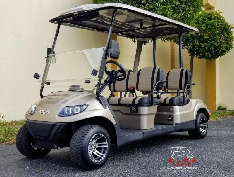 2021 ICON i40F4 Forward Facing Passenger Golf Cart