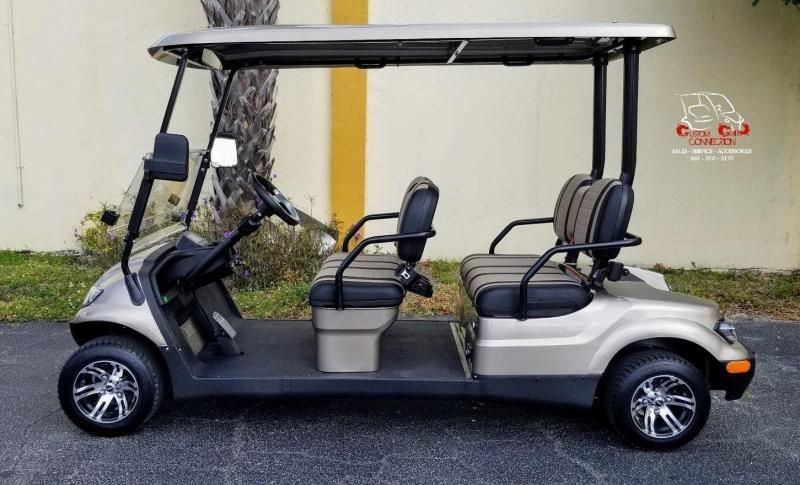2021 ICON i40F4 Forward Facing Passenger Golf Cart