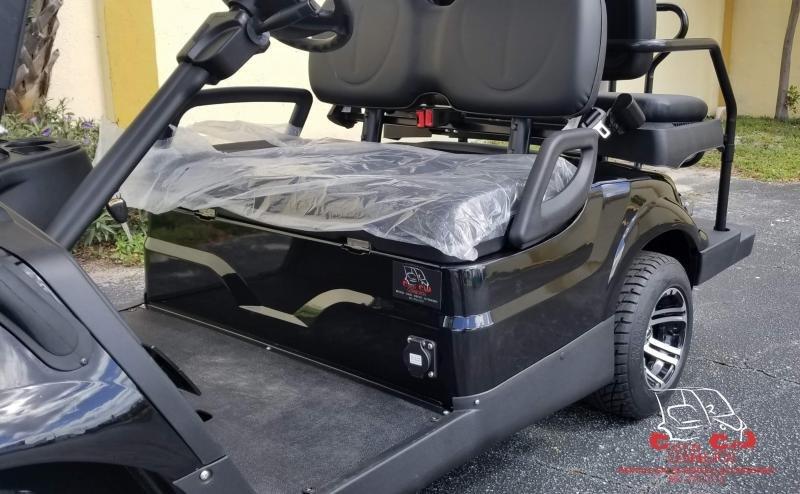 2021 ICON i40 Black 4 Passenger Golf Cart