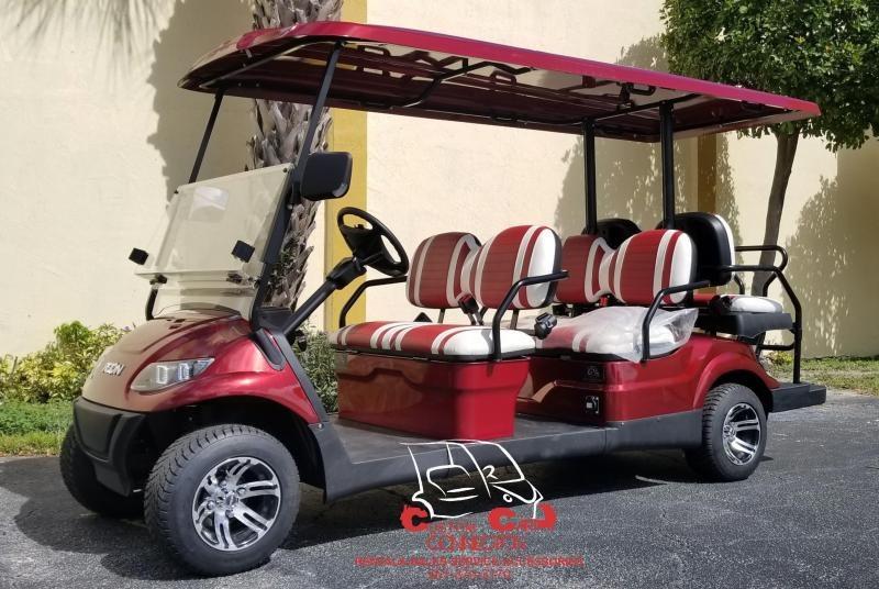 2021 ICON i60 Sangria 6 Passenger Golf Cart
