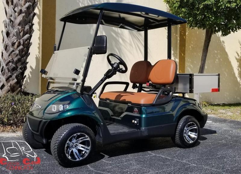 2021 ICON i20 w/Cargo Box Utility Cart