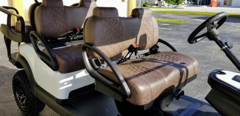 2018 Club Car Precedent Lifted 6 Passenger Golf Cart Gas/EFI