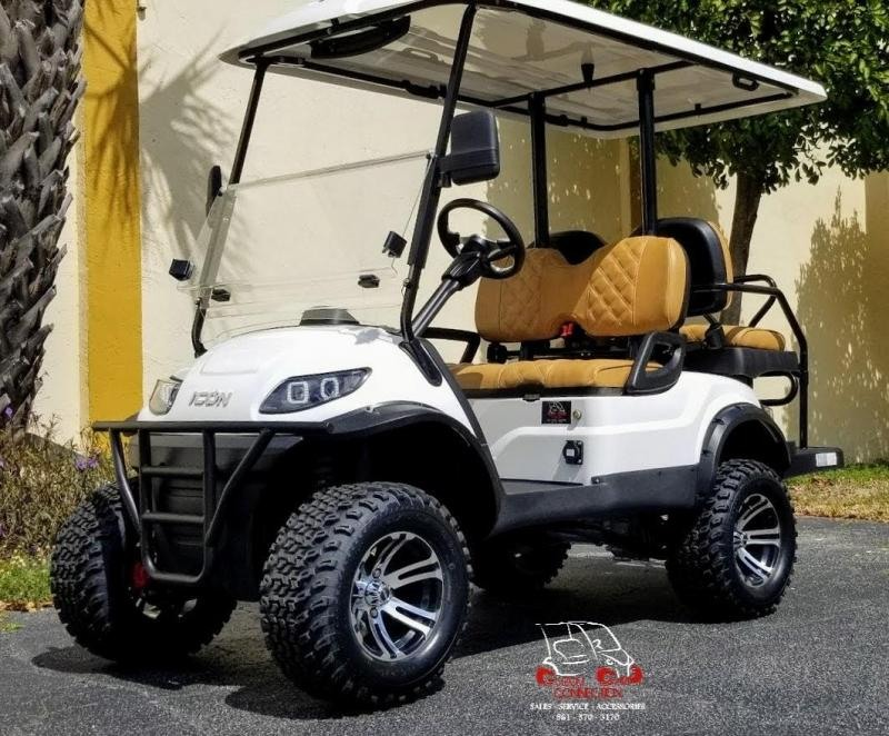 2021 ICON i40L Golf Cart w/Custom Seats