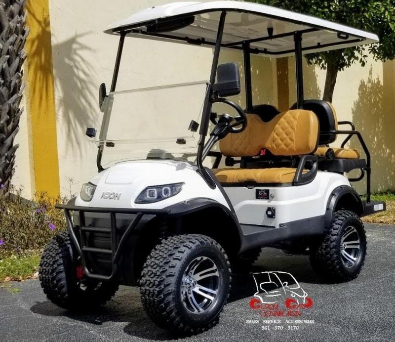 2021 ICON i40L Golf Cart w/Custom Seats