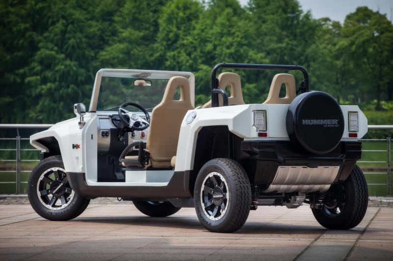 2021 MEV HUMMER HXTL Golf & Resort Vehicle