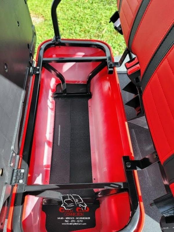 2021 ICON i40FL Red Golf Cart Electric Vehicle
