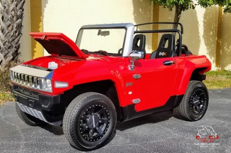 2021 MEV HUMMER HXT Golf & Resort Vehicle