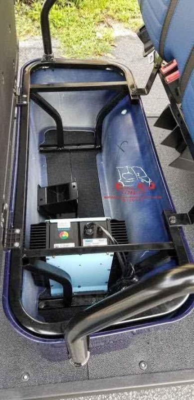 2021 ICON i40FL 4 Passenger Lifted Golf Cart