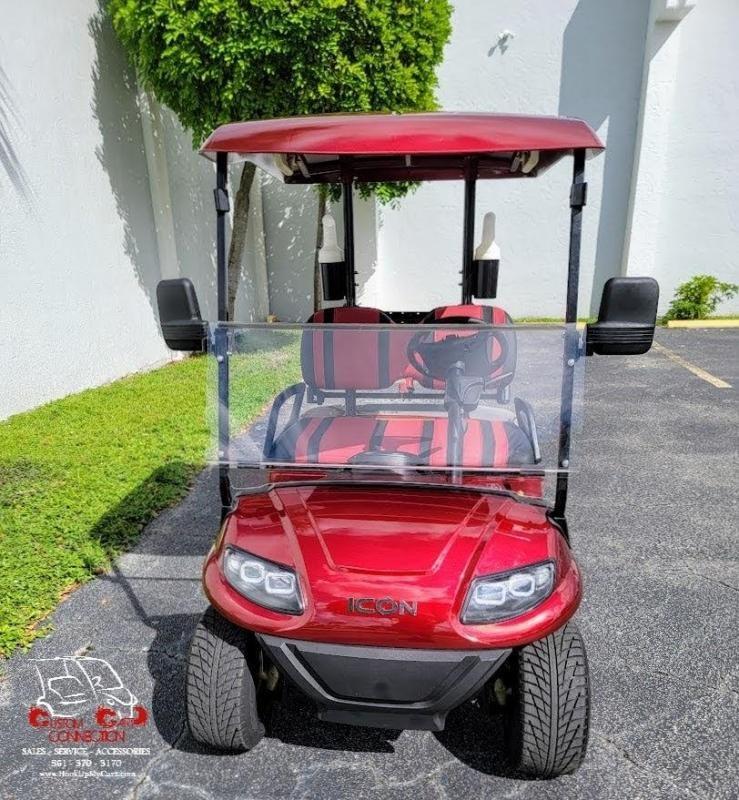 2021 ICON i20 Golf Cart w/Bag Attachments