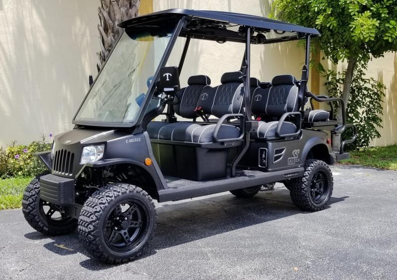 2021 Tomberlin Ghosthawk 6 Passenger Golf Cart LSV