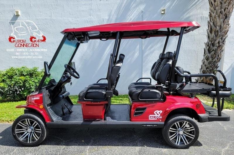 2022 Tomberlin Ruby Red E4 SS SALOON 6 Passenger Golf Cart