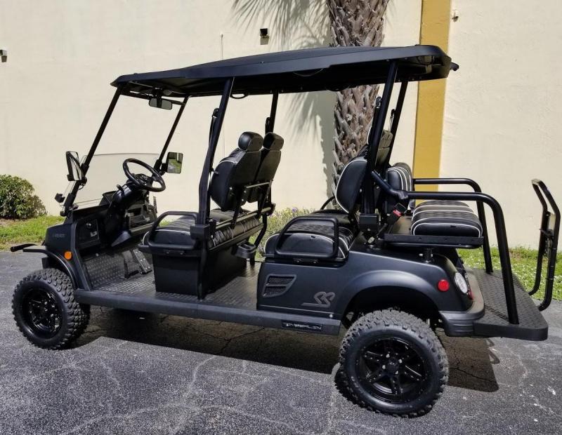 2021 Tomberlin Ghosthawk Golf Cart 6 Passenger w/Custom Seats