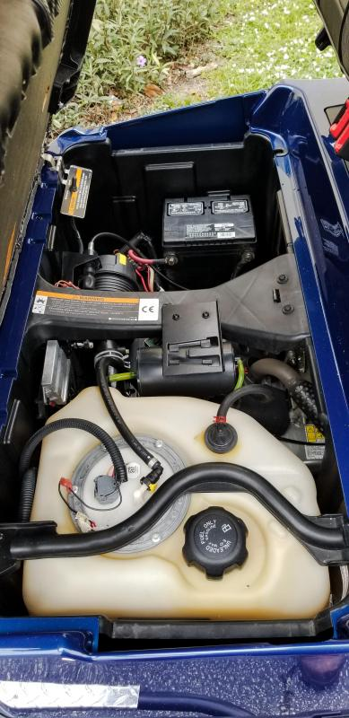 2015 Club Car Precedent EFI Gas Golf Cart