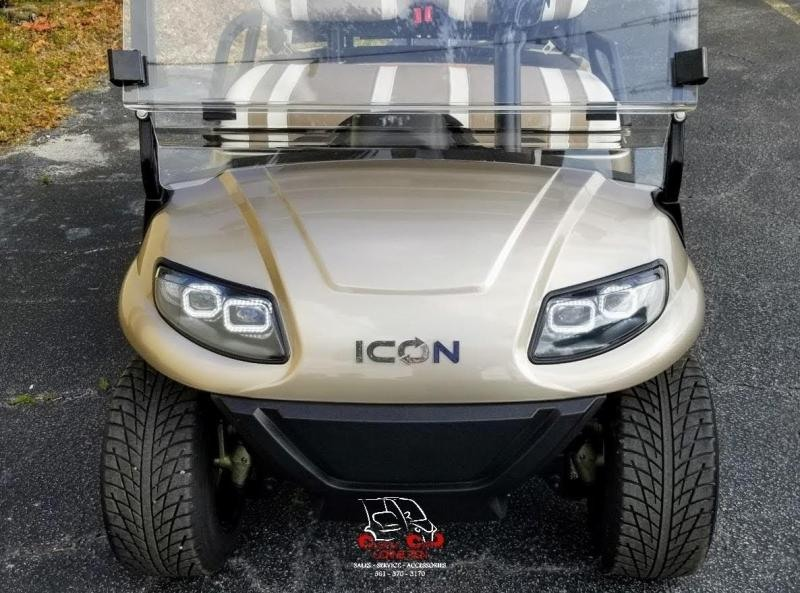 2021 ICON i40 Champagne Golf CartElectric Vehcile