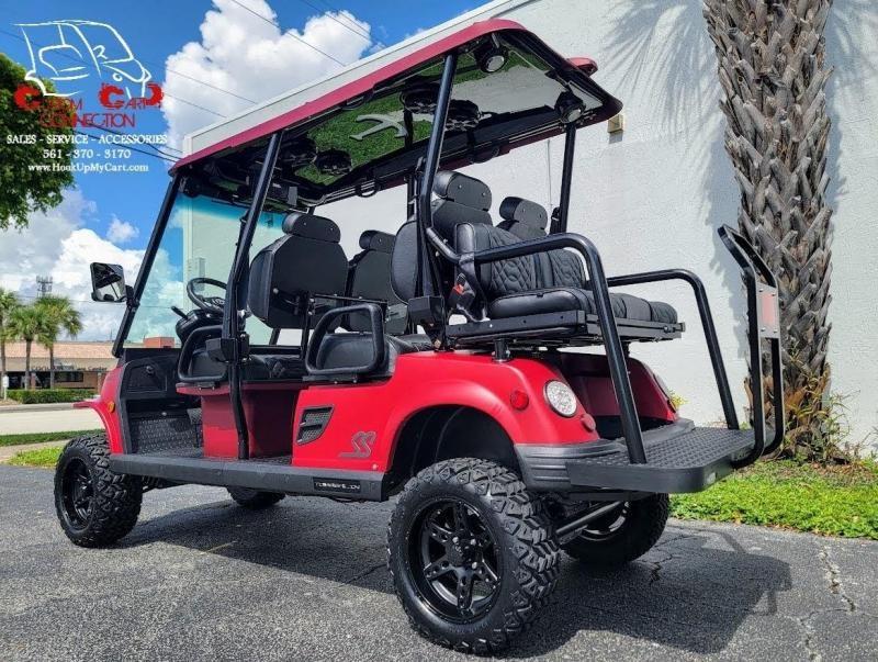 2022 Tomberlin Ghosthawk Golf Cart 6 Passenger Electric Vehicle