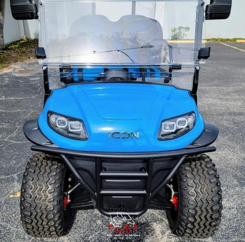 2021 ICON i40FL Caribbean Blue Golf Cart
