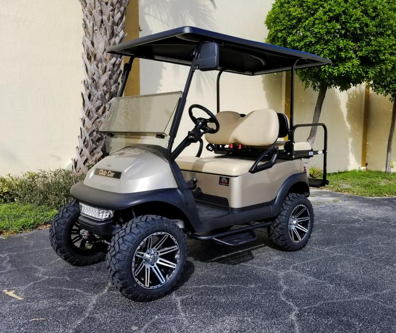 2015 Custom Gas EFI Engine Club Car Precedent Golf Cart