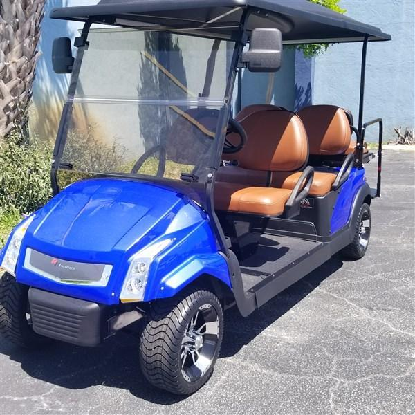 CADDY STYLE CLUB CAR PRECEDENT EFI FUEL INJECTED CUSTOM CART
