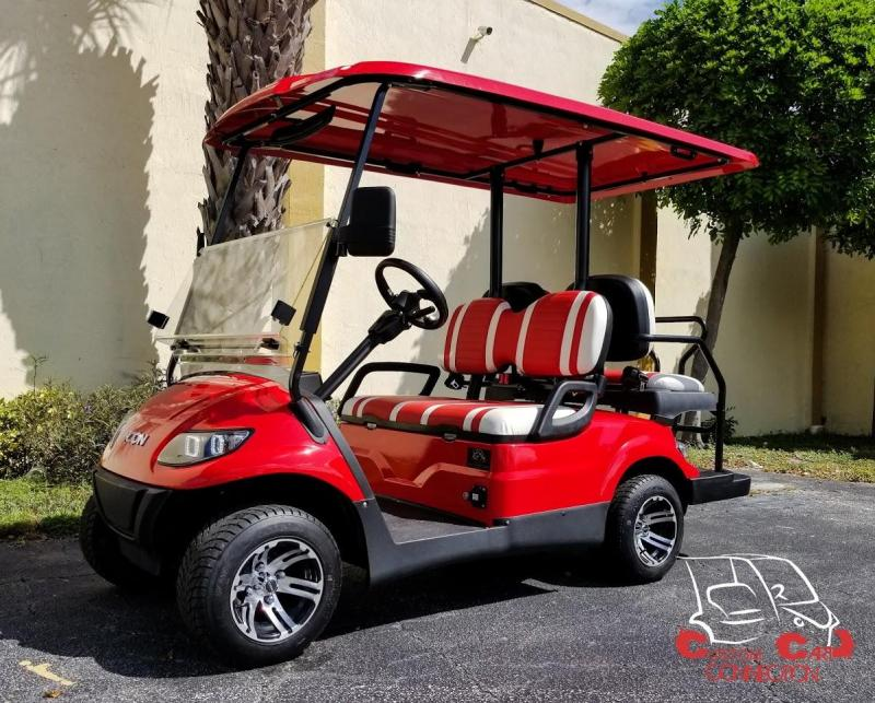 2020 ICON i40 Red Golf Cart