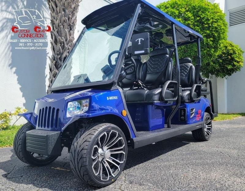 2022 Tomberlin E4 SS SALOON 6 Passenger Golf Cart Electric Vehicle