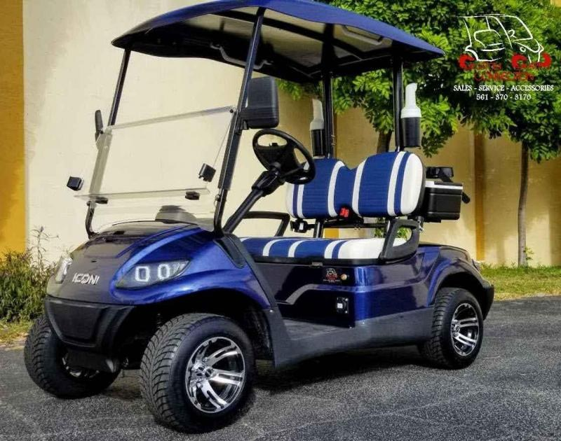 2021 ICON i20 Golf Cart w/Bag Attachments