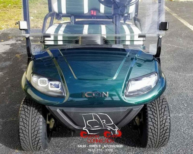 2021 ICON i20 Golf Cart w/Cargo Box