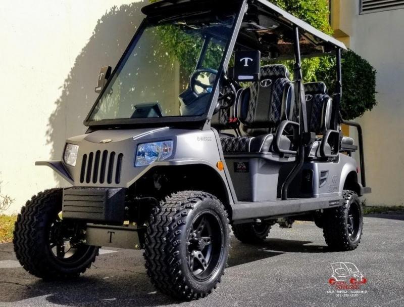 2022 Tomberlin Ghosthawk in Shark Gray Golf Cart