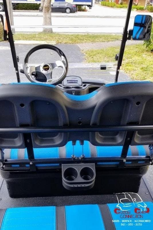 2021 ICON i60L Black Lifted Golf Cart