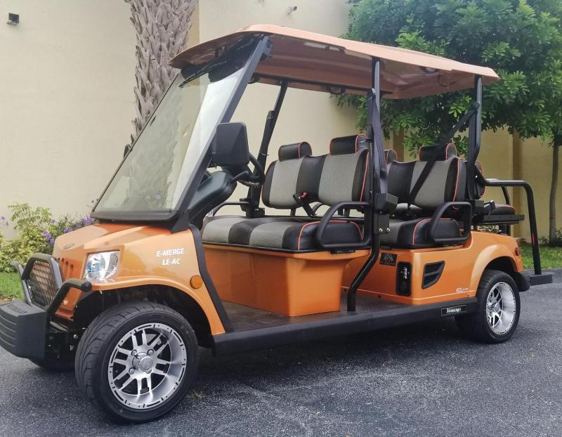 2019 Tomberlin E-Merge E4 LE Plus Street Legal Golf Cart