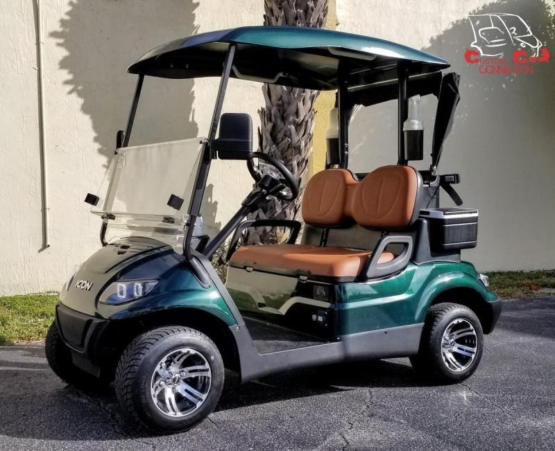 2020 ICON i20 Electric Golf Cart w/Bag Attachments