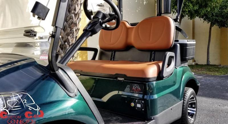 2020 ICON i20 Electric Golf Cart w/Bag Attachments